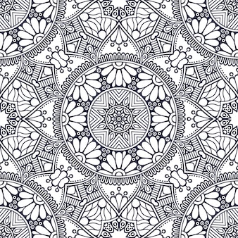 Mandala. round ornament pattern. vintage decorative elements