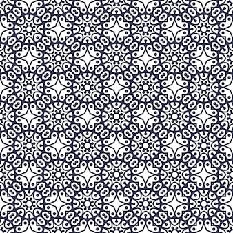 マンダラ。丸い飾りパターン。ヴィンテージの装飾的な要素