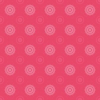 Мандала бесшовный фон фон. обои арабески. традиционный элегантный батик. классический мотив