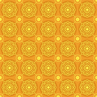 Mandala seamless pattern background wallpaper. elegant traditional motif. luxury geometric. classic batik.