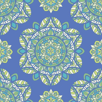 Mandala seamless pattern design for printing. tribal ornament.