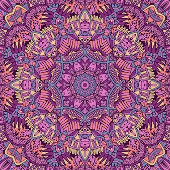 Mandala  seamless pattern mandala art. flower medallion print.