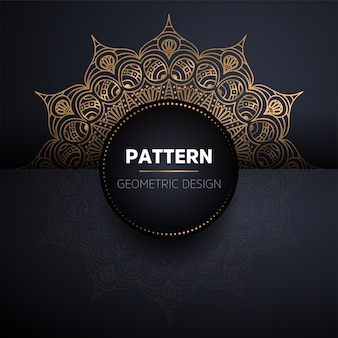 Mandala seamless pattern. vintage decorative elements pattern