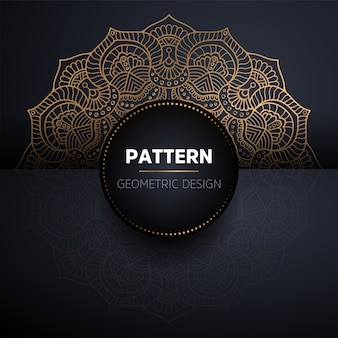 Mandala seamless pattern. vintage decorative elements pattern
