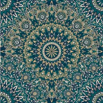 Mandala seamless pattern. vintage  .