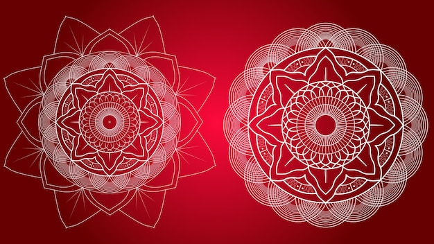 Mandala templates.