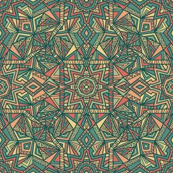 Mandala, tribal ornament.