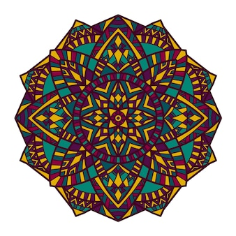 Mandala vector design for printing