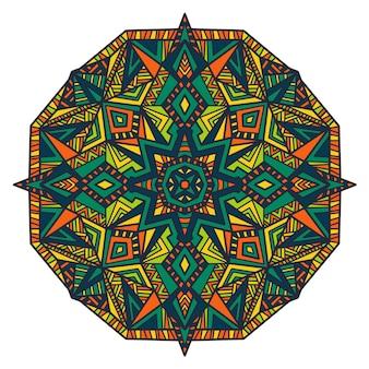 Mandala vector design for printing