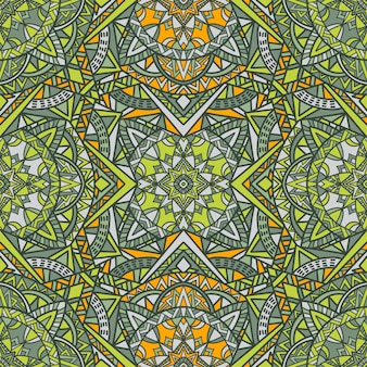 Mandala vector seamless pattern background