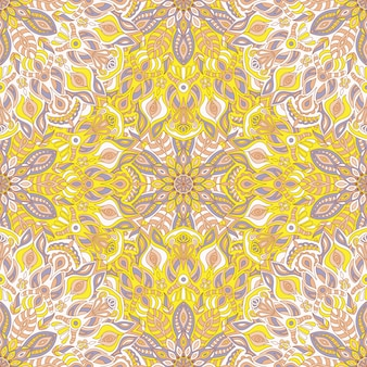 Mandala vector seamless patterntribal ornament.
