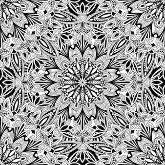 Mandala vintage design for printing. tribal ornament.