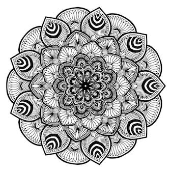 Книга мандалы, восточная терапия, йога логотипы вектор.