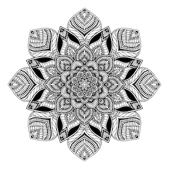 Mandalas coloring book, oriental therapy