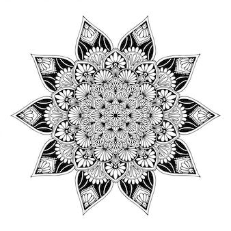 Mandalas coloring book, oriental therapy