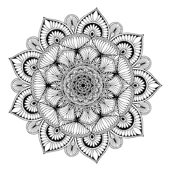 Mandalas for coloring  book. oriental vector, anti-stress therapy patterns. yoga logos vec