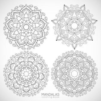 Мандалас / книжка-раскраска