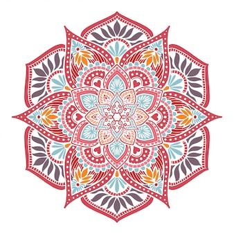 Mandalas flower shape