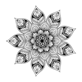 Mandalas round for coloring  book. decorative round ornaments.