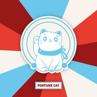 Maneki-нэко повезло кошка