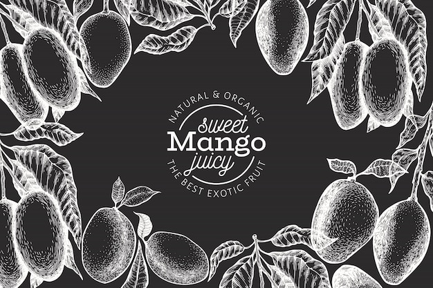 Mango design template