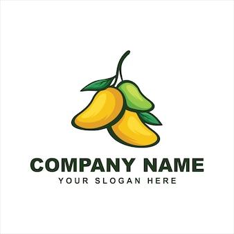 Логотип плод манго