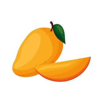 マンゴーフルーツベクトル