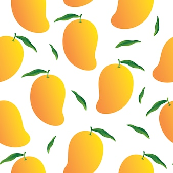 Mango pattern background