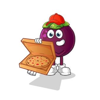マンゴスチンピザ配達少年漫画のキャラクター