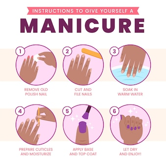 Manicure advice for home