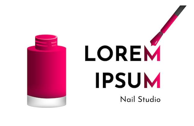 Manicure and pedicure nail salon