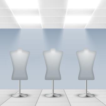 Mannequins background design