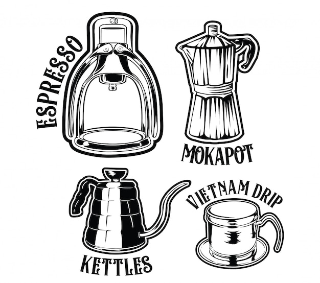 Manual brewing coffee tools