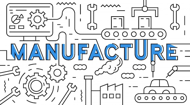 Manufacture flat line