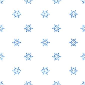透明な背景に多くの白い冷たいフレーク要素。大雪、雪のパターン。ベクトルストックイラスト。