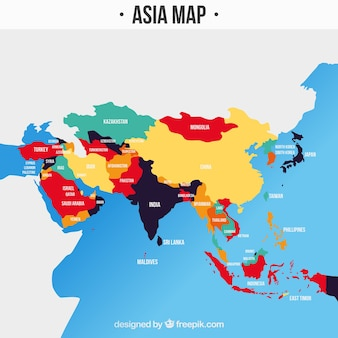 South Asia Map Vectors, Photos and PSD files | Free Download