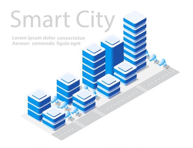 Map of city on white design