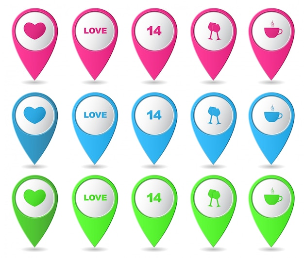 Map markers collection