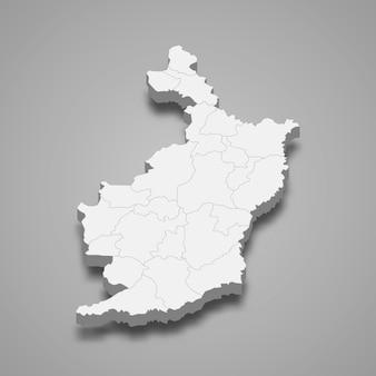 ブリーラムの地図はタイの州です