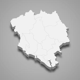 チャンタブリーの地図はタイの州です