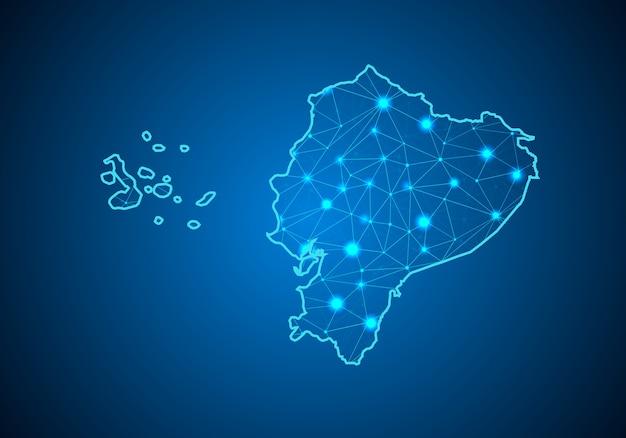Карта эквадора.