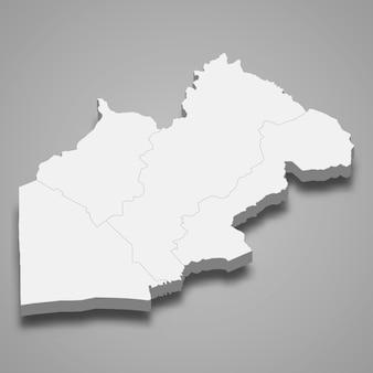 ナコンナヨクの地図はタイの州です