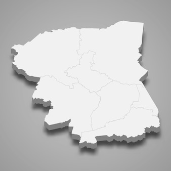 ナコンパトムの地図はタイの州です