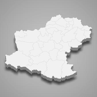 ナコーンラーチャシーマーの地図はタイの州です