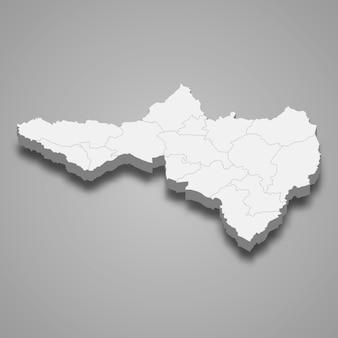 ナコンサワンの地図はタイの州です