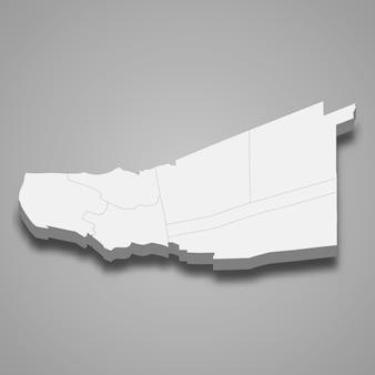 パトゥムターニーの地図はタイの州です