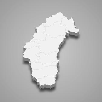ペッチャブーンの地図はタイの州です