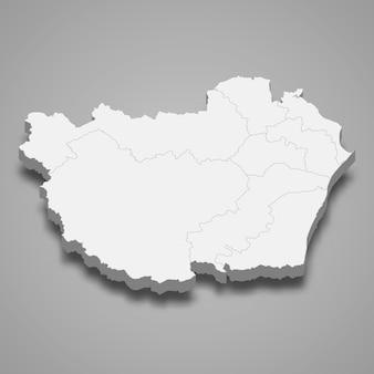 ペッチャブリーの地図はタイの州です