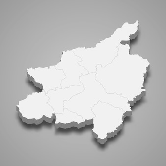ピッサヌロークの地図はタイの州です
