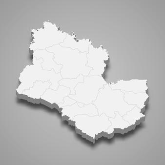 サコンナコーンの地図はタイの州です